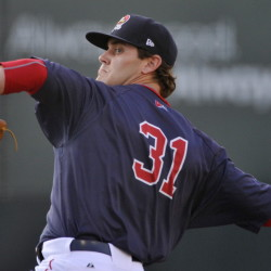Madison Younginer moved to the bullpen in 2013 and it's paying dividends now, in his sixth season of pro ball. The Sea Dogs righty has a 2.95 ERA in 64 innings.