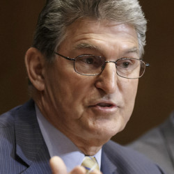 A spokesman says Sen. Joe Manchin, D-W.Va., is leaning toward supporting the nuclear pact with Iran.