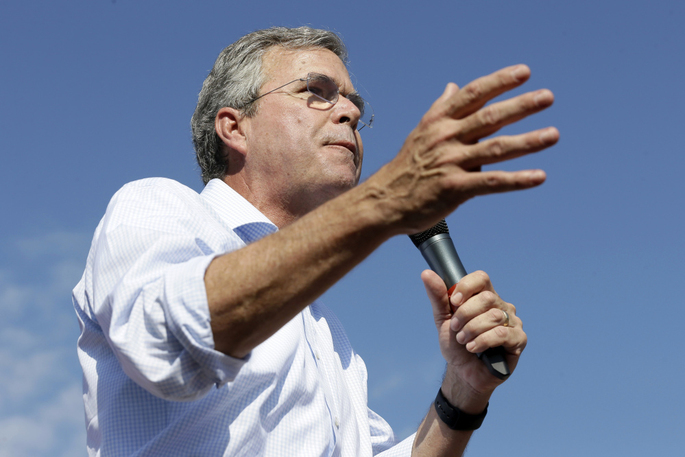 Jeb Bush's powerfully funded super political action committee will spend at least $10 million to buy television advertising in several early voting states.