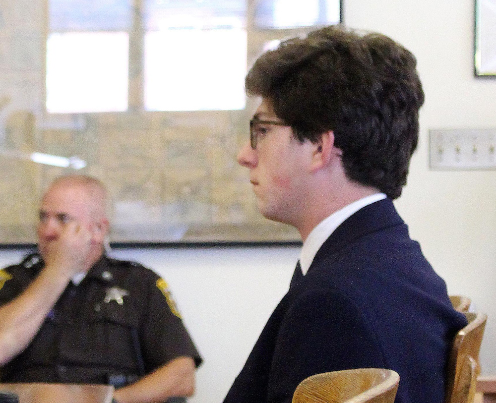 "Owen Labrie is charged with taking part in a practice at St. Paul's School known as ""Senior Salute"" where graduating boys try to take the virginity of younger girls before the school year ends."