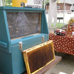 Parts of a beehive, beekeeping equipment and a small observation hive will be on display when the Cumberland County Beekeepers Association gives a talk Saturday at the Maine Wildlife Park in Gray.