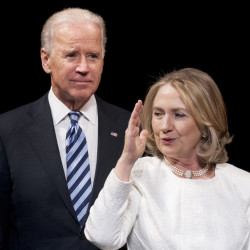 A hard question for President Obama in the 2016 election: Is Vice President Joe Biden or former Secretary of State Hillary Clinton the best choice for continuing his legacy?