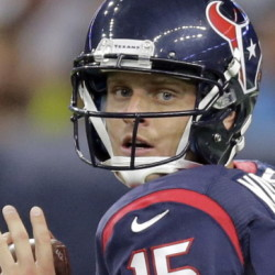 Ryan Mallett is unhappy and letting everyone know it after learning he won't be the starting quarterback for the Houston Texans, who chose Brian Hoyer instead.