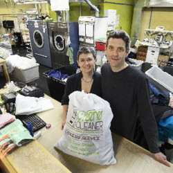 Jason Wentworth and his wife, Sandrine Chabert, are closing their Washboard Eco-Laundry after 13 years in Portland.