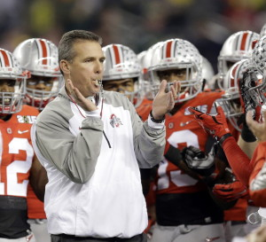 Urban Meyer has felt the stress of success, stepping away from Florida after winning two national titles in three seasons as coach. He insists he's better prepared now to lead Ohio State in its title defense.