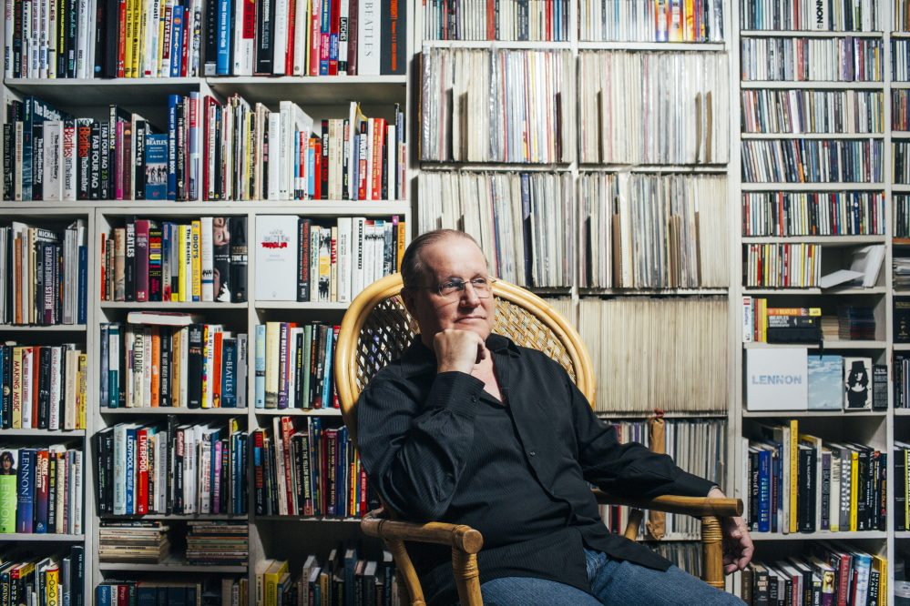 Allan Kozinn at home in Portland. The longtime arts writer for The New York Times looks forward to the opening concerts of the Portland Symphony Orchestra on Oct. 11 and 13.