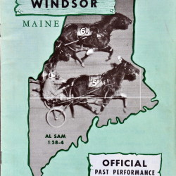 This Windsor Fair racing program is from 1967, the first year of 47 that Eino Leinonen began attending every race.