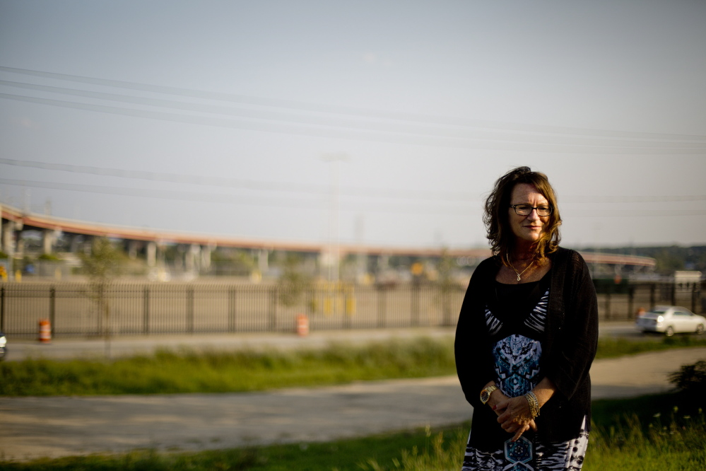 Michelle Brooks, general manager of Americold, poses for a portrait Monday near the site of where her company will build a new cold storage facility. Gabe Souza/Staff Photographer