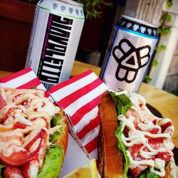 High Roller sells lobster rolls on brioche made by Southside Bakery in South Portland. Courtesy photo
