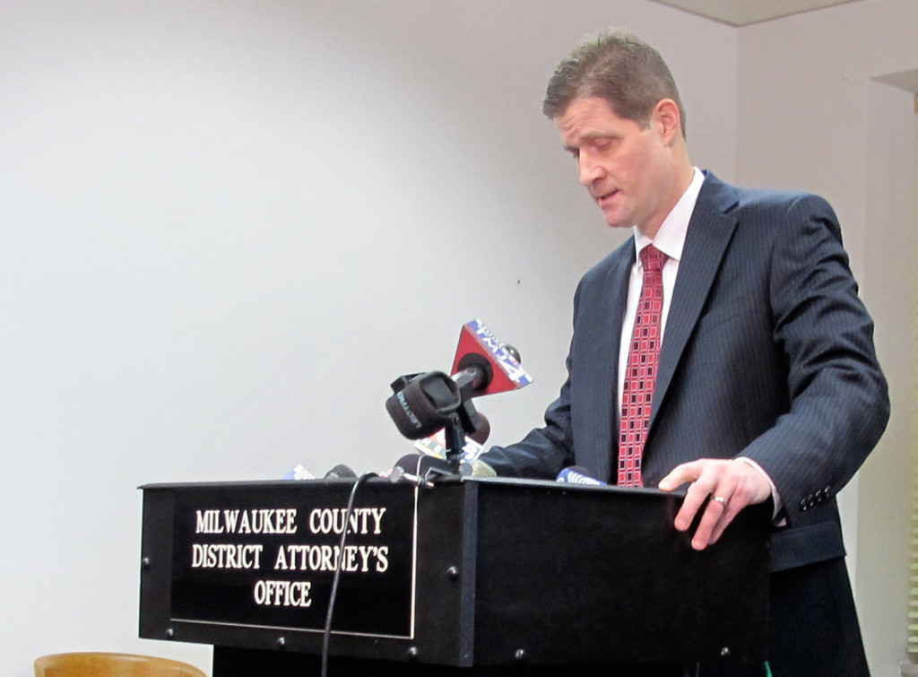 Milwaukee County District Attorney John Chisholm opened an investigation that targeted political conservatives, M.D. Harmon writes.