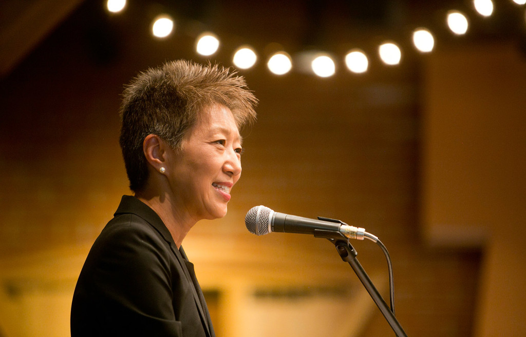National Endowment for the Arts Chairwoman Jane Chu was scheduled to visit Bates College Museum of Art and Somali Bantu Community Association on Tuesday afternoon in Lewiston and travel to Brunswick on Wednesday to visit Spindleworks, the Bowdoin International Music Festival site on Park Row and the Bowdoin Museum of Art.