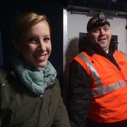 WDBJ-TV reporter Alison Parker, left, and cameraman Adam Ward were fatally shot during an on-air interview Wednesday in Moneta, Va. Their killer was Vester Lee Flanagan II, who appeared on WDBJ-TV as Bryce Williams. Flanagan was fired from the station in 2013. Courtesy of WDBJ-TV via AP