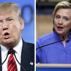 The results of Tuesday's votes is placing Republican Donald Trump and Democrat Hillary Clinton in the lead for their party nominations.  The Associated Press