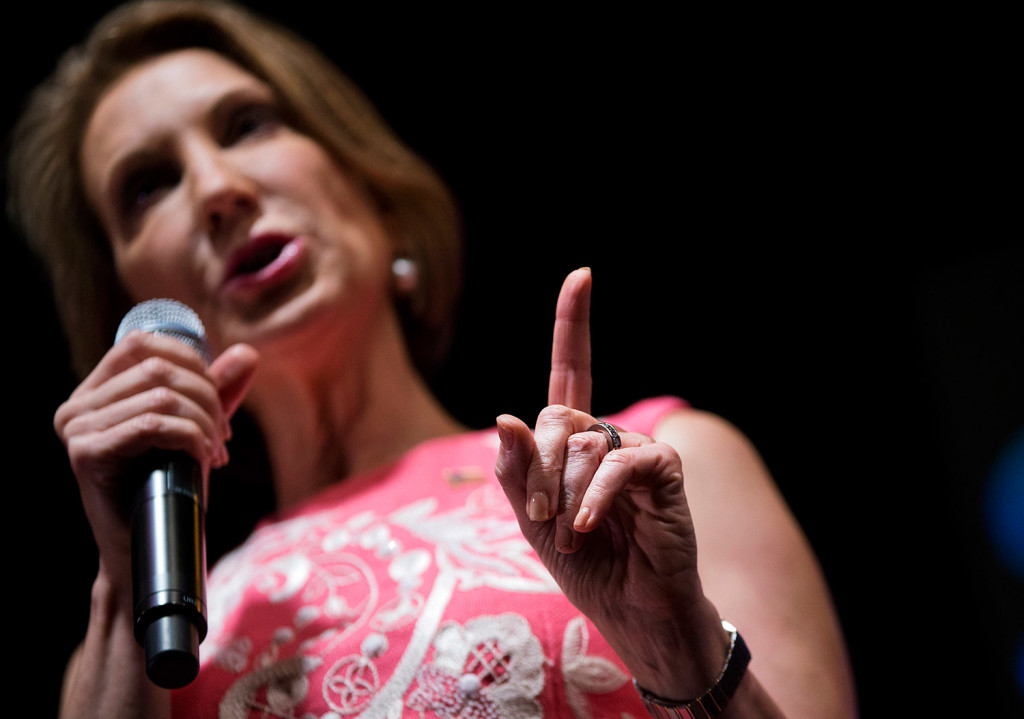 Carly Fiorina plans to back Ted Cruz at the Maine Republican party's convention.