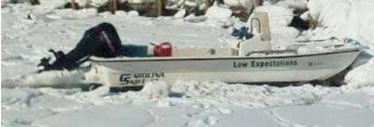 Dana Moy's boat, Low Expectations  Courtesy Cumberland County Sheriff's Office