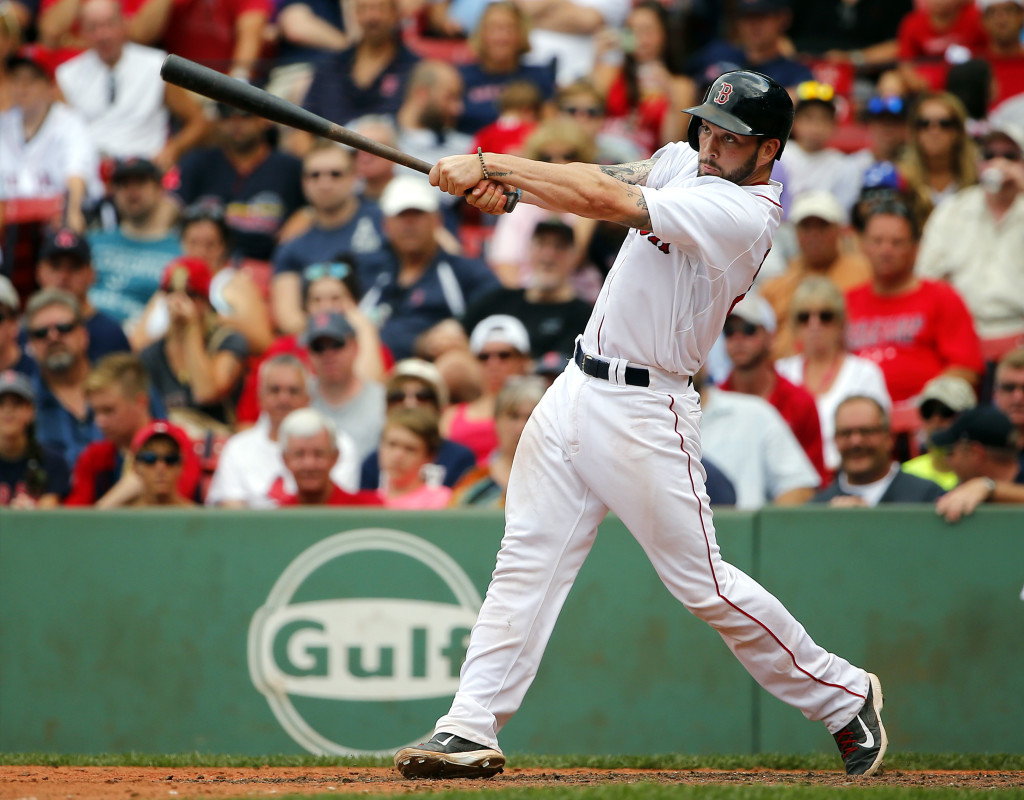 Blake Swihart emerged from spring training as the best hitter among the three  Red Sox catchers, but Sandy Leon and Christian Vazquez are better defensively. Add to that the fact that Swihart is the only one with minor league options, and it's Swihart who's on his way to Pawtucket.