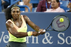 Serena Williams won in Mason, Ohio, last weekend and now sets her sights on the U.S. Open – and a Grand Slam – as the No. 1 seed. The Associated Press
