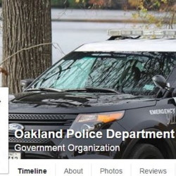 Facebook screen capture The Oakland Police Department is attempting to get Facebook to take down a page that threatens to post photos of nude underage girls, including students at Messalonskee High School. The department, as well as the Somerset County Sheriff's Department, have posted about it on their Facebook pages.