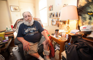 Harvey Lembo, who shot an alleged intruder in his Rockland apartment Monday night, may have to give up his gun.