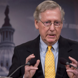 Senate Majority Leader Mitch McConnell of Kentucky concedes that his party will have to await the next president before it can cut off federal funds that go to Planned Parenthood.