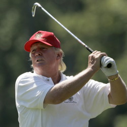 Donald Trump is known for describing himself as a man of unbridled accomplishment and success in virtually every area he's attempted, and his golf game has long been one of his most highly self-touted skills.