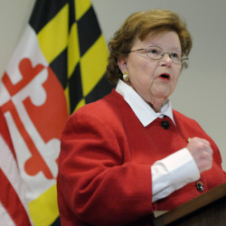 A commitment by Sen. Barbara Mikulski, D-Md., the longest-serving woman in the history of Congress, secures a foreign policy victory for President Obama.