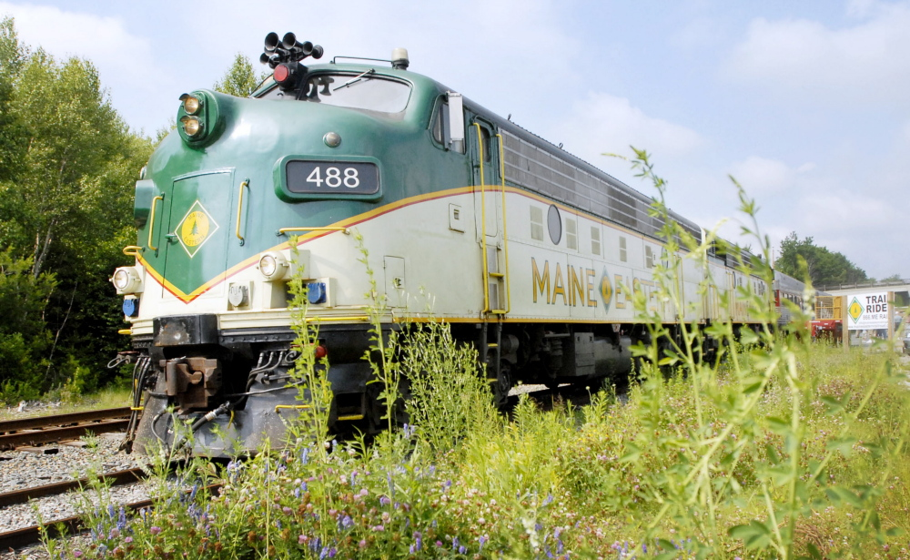 Maine Eastern Railroad has operated a summer excursion train between Brunswick and Rockland for 12 years.
