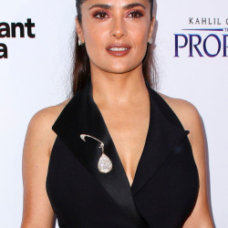 A Los Angeles judge Friday ordered two women to stay away from Salma Hayek and her family for three years.