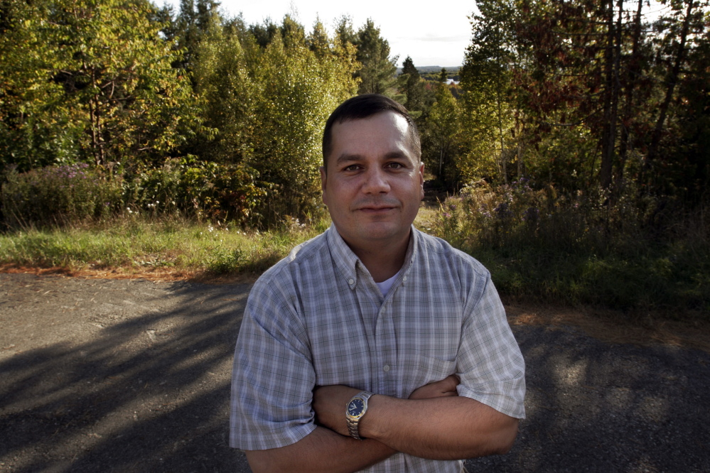 "Billy Nicholas, chief of the Passamaquoddy Tribe at Indian Township, said, ""Don't get me wrong: We're not here to break the law"" with plans for a marijuana cultivation facility. 2007 Associated Press file photo"