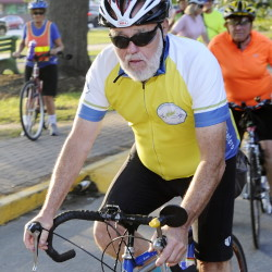 Bob Bruce, a retired shipbuilder, has taught bicycle safety to about 10,000 Maine elementary school children.
