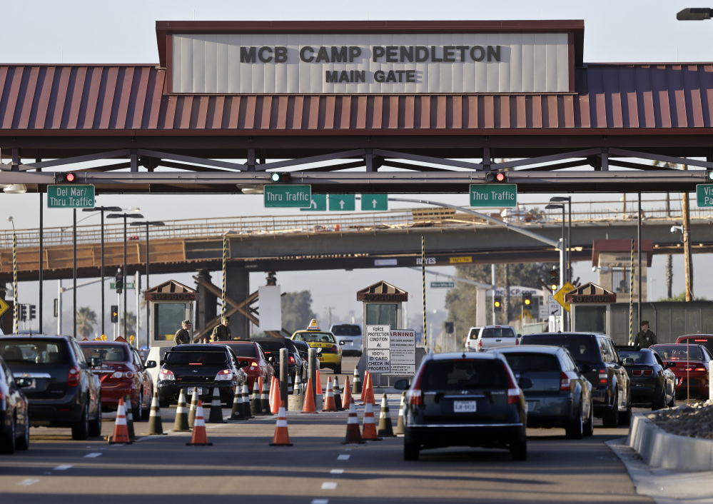 A truck rollover crash killed one Marine and injured 18 others at Camp Pendleton Marine Base in California.