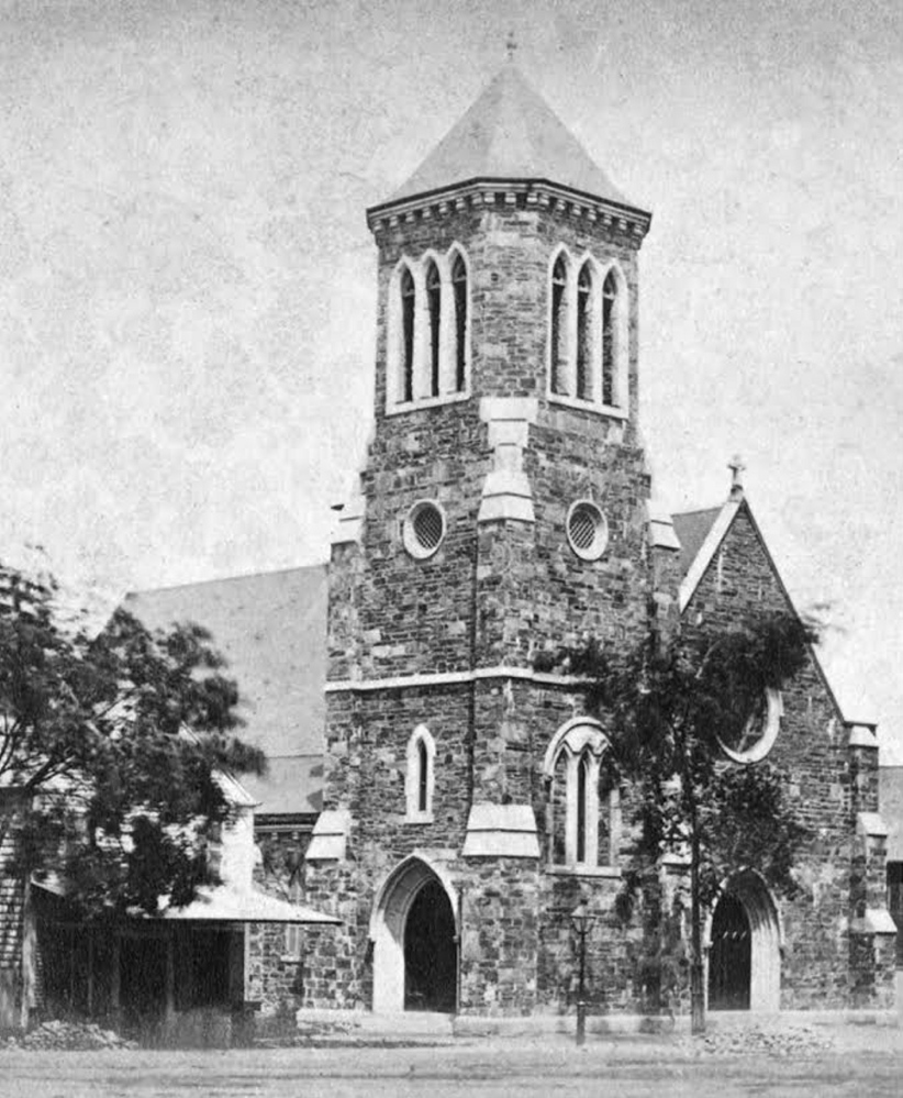 An undated postcard depicts the building at 669 Congress St. in Portland that housed St. Luke's Episcopal Church and then St. Stephen's Episcopal Church. A book reviewer who said a novelist got St. Luke's history wrong is corrected by two letter writers.