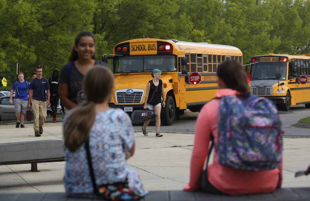 For three years now, the school day has started at 7:50 a.m. at Westbrook High School, but administrators are considering an even later start time in the future.