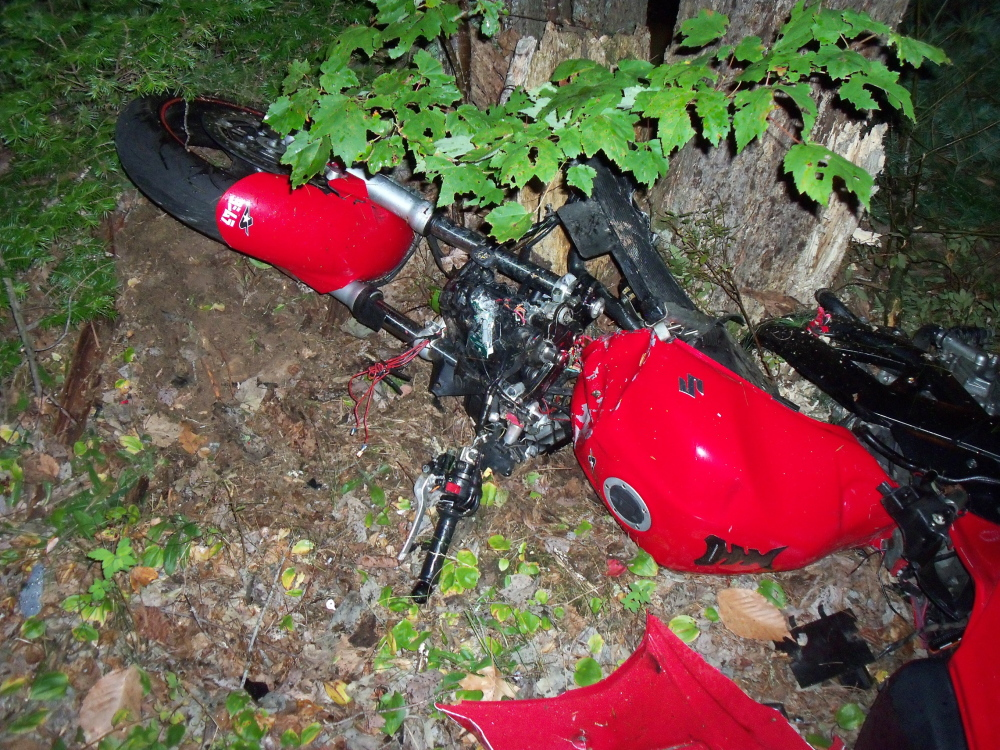 A Somersworth, New Hampshire, man became Maine's 27 motorcycle fatality in a crash on Lower Cross Road in Lebanon Saturday night.