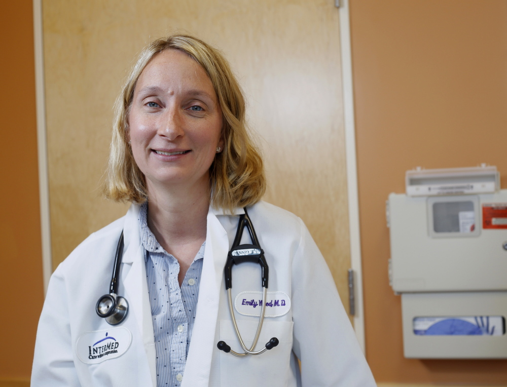 Dr. Emily Wood is a infectious disease specialist at InterMed. Derek Davis/Staff Photographer