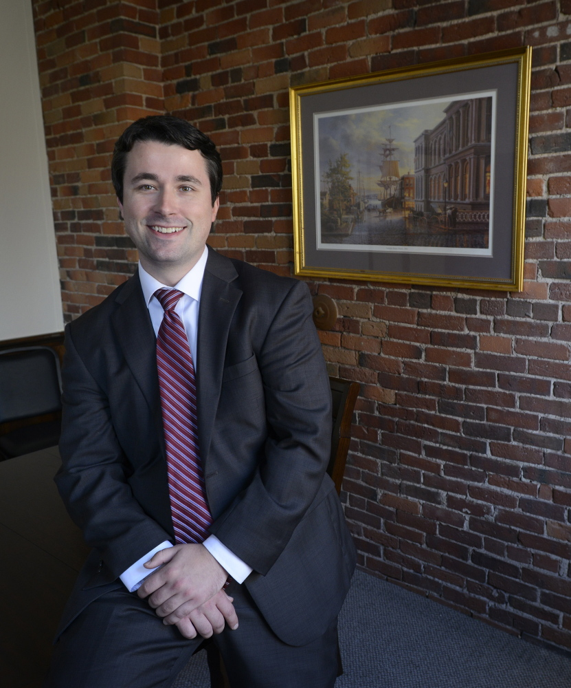 """Cory McKenna, an attorney with Fairfield & Associates in Portland, says """"a lot of (criminal defense) is about getting people connected to the services they need."""""""