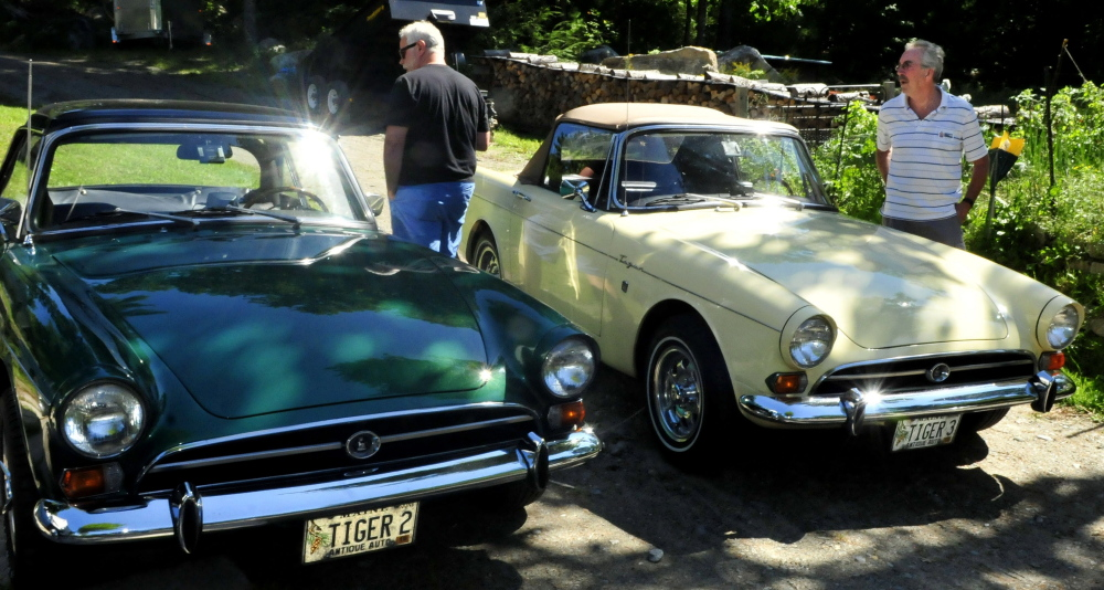 Vintage British Car Owners Show Off Their Wheels In Maine Portland - British car show