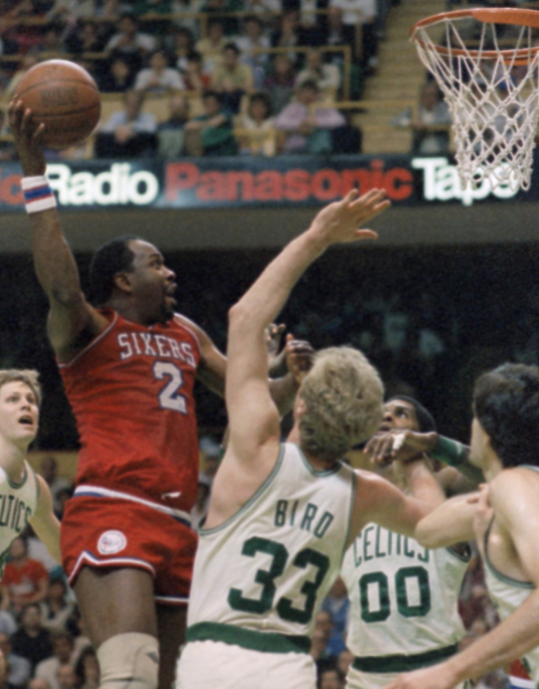 Such NBA stalwarts as Boston's Larry Bird never fazed Malone, who enjoyed some of his best years as a Philadelphia 76er when the rivalry with the Celtics was intense.