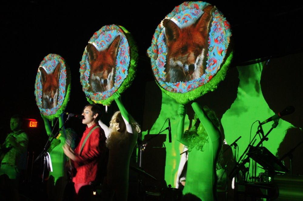 Of Montreal performs at Port City Music Hall in Portland on Sept. 16.