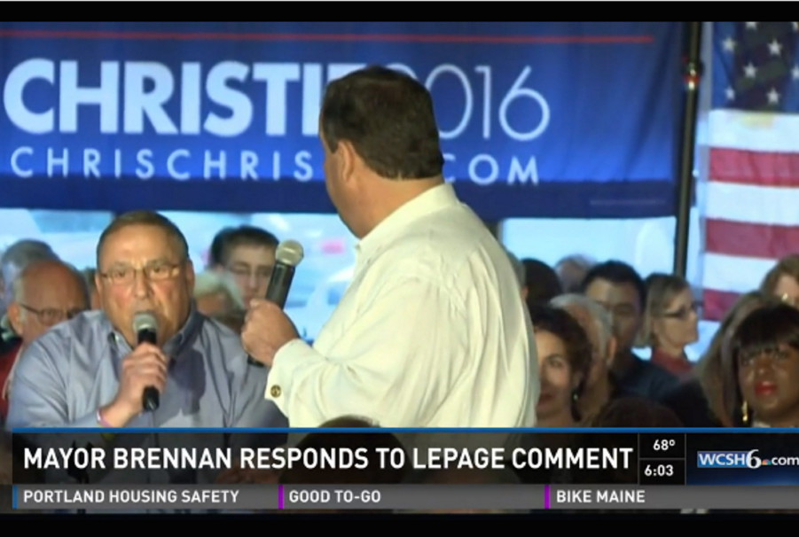 "Gov. LePage tells the audience at a Dover, N.H., campaign stop Sunday by presidential candidate Chris Christie that Portland belongs on a list of so-called ""sanctuary cities"" that protect undocumented immigrants even if they pose a threat to public safety. The statement is typical of a governor who has tried hard to associate immigrants with criminal behavior."