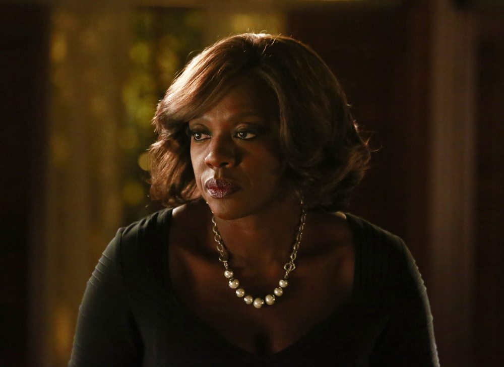 "Viola Davis in ""How to Get Away With Murder."" Davis is nominated for an Emmy for outstanding lead actress in a drama series. ABC"