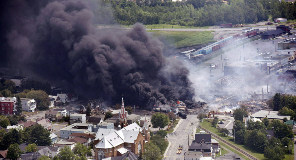 A settlement for victims of a fiery train derailment that claimed multiple lives in downtown Lac-Megantic, Quebec, in 2013 is poised for final approval, but payments could be held up by a court challenge in Canada.