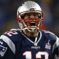 In the first two weeks of the season, Tom Brady has unleashed his fury on the Steelers and the Bills, completing 65 of 91 passes for 754 yards and seven touchdowns.