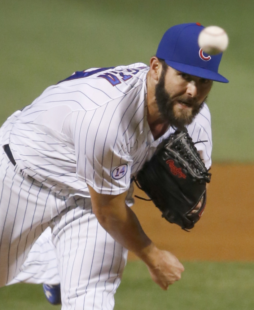 The Cubs' Jake Arrieta has had a stellar season; he's the first pitcher in the majors to win 20 games this year.