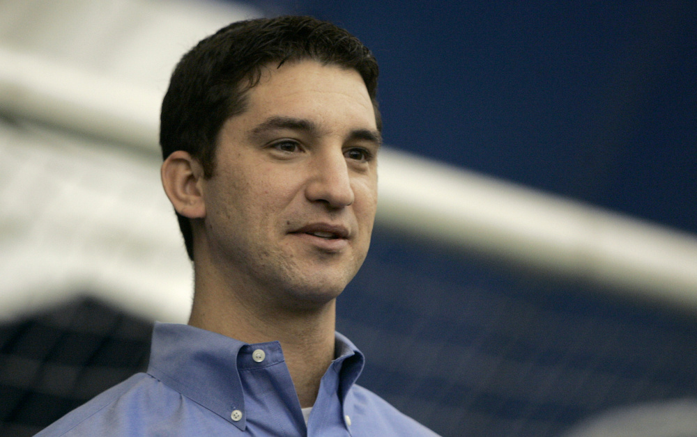 Mike Hazen was named the team's general manager and senior vice president on Thursday. The Associated Press