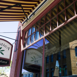 The exterior of Rustica Cucina Italiana in Rockland