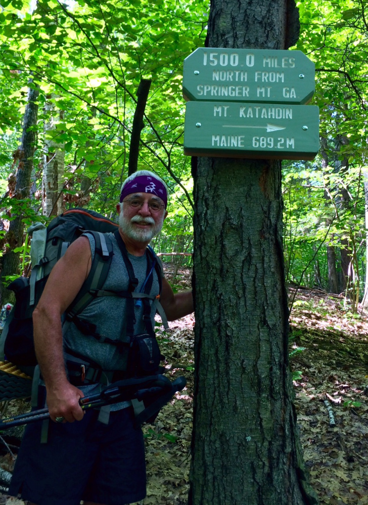 Carey Kish finds the Connecticut leg of the Appalachian Trail to his liking, knowing that he has less than 700 miles to go before he will reach Mount Katahdin.