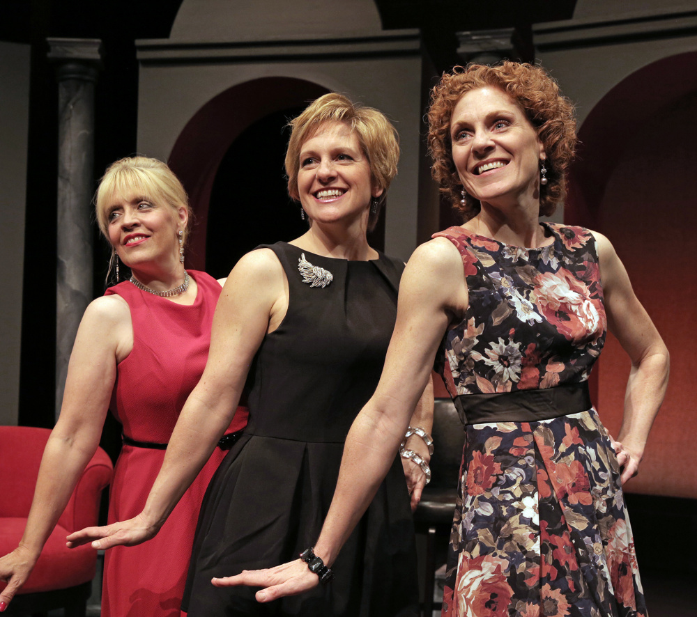 "Lynne McGhee, Marie Dittmer and Jen Means star in ""No Biz Like Show Biz"" at Good Theater."