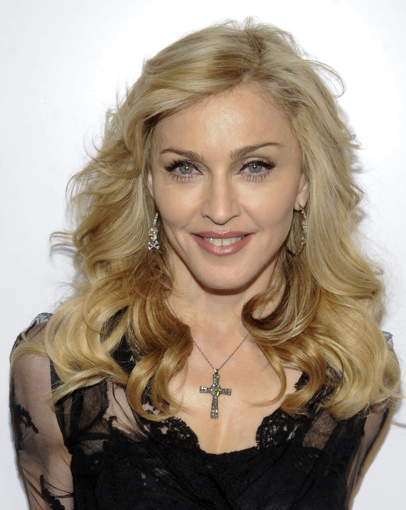 Madonna's show in Philadelphia featured lots of religious imagery, including female performers wearing nuns' habits – and little else – pole dancing on crosses.