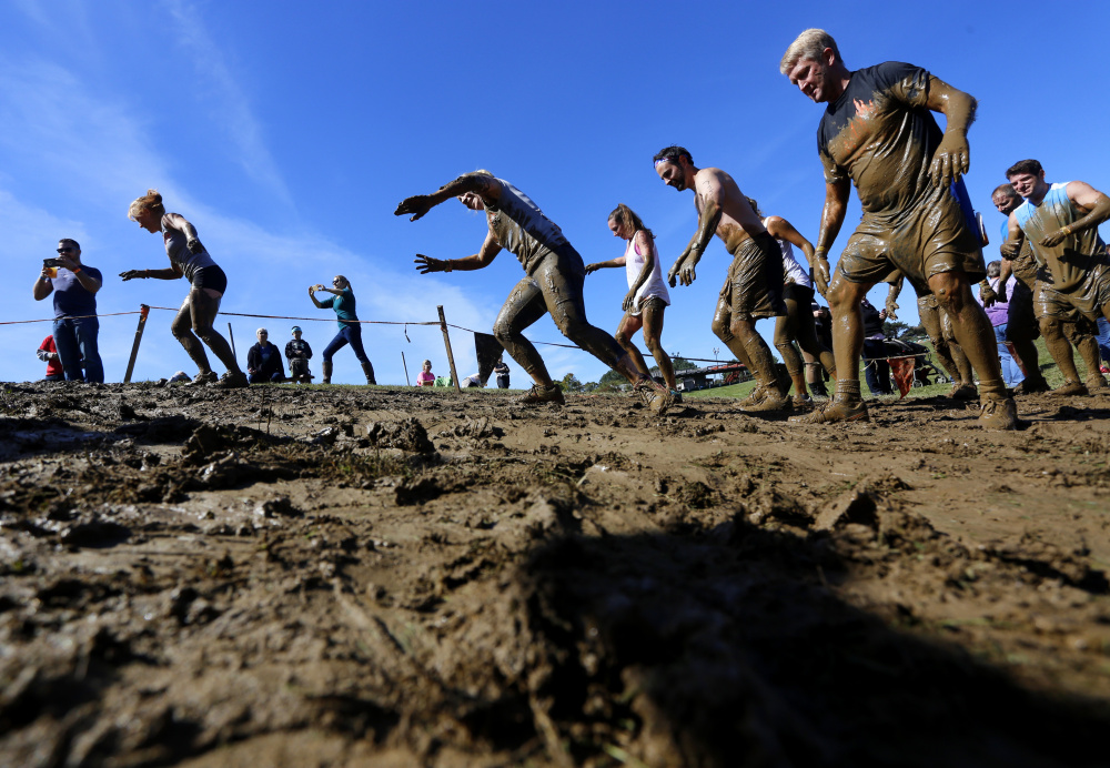The Great Northeast Tough Mudder The Portland Press